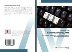 Bookcover of Geldentwertung 2016