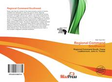 Couverture de Regional Command Southwest