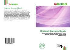 Copertina di Regional Command South