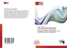 Bookcover of 7th Muslim Brigade
