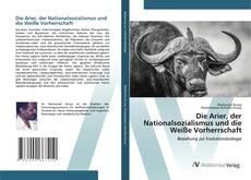 Capa do livro de Die Arier, der Nationalsozialismus und die Weiße Vorherrschaft