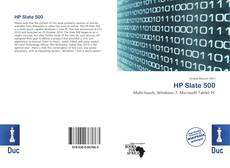 Bookcover of HP Slate 500