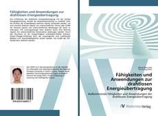 Capa do livro de Fähigkeiten und Anwendungen zur drahtlosen Energieübertragung