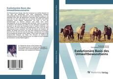 Buchcover von Evolutionäre Basis des Umweltbewusstseins
