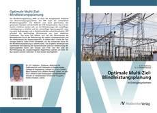 Buchcover von Optimale Multi-Ziel-Blindleistungsplanung