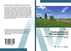 Buchcover von Biodiversität und Pflanzentaxonomie