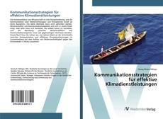 Buchcover von Kommunikationsstrategien für effektive Klimadienstleistungen