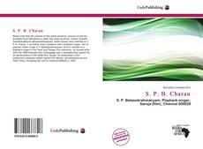 S. P. B. Charan kitap kapağı