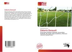 Zakaria Zerouali kitap kapağı