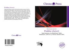 Bookcover of Prabhu (Actor)