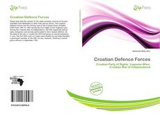 Bookcover of Croatian Defence Forces