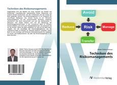 Buchcover von Techniken des Risikomanagements