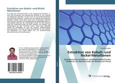 Bookcover of Extraktion von Kobalt- und Nickel-Metallionen