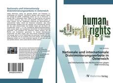 Bookcover of Nationale und internationale Diskriminierungsverbote in Österreich