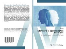Literatur des Sozialistischen Realismus kitap kapağı