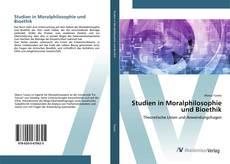 Buchcover von Studien in Moralphilosophie und Bioethik
