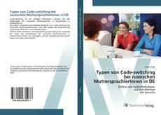 Capa do livro de Typen von Code-switching bei russischen MuttersprachlerInnen in DE