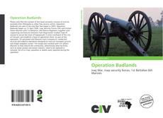 Borítókép a  Operation Badlands - hoz