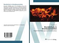 Brandschutz in Krankenanstalten的封面