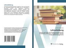 Bookcover of Lehrerbildung