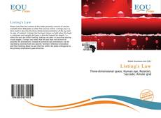 Bookcover of Listing's Law
