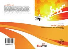 Buchcover von JavaFX Script