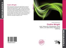 Bookcover of Cedric Wright