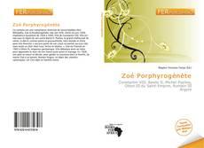 Couverture de Zoé Porphyrogénète