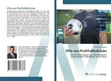 Capa do livro de IPOs von Profifußballclubs