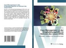 Capa do livro de Case Management in der Eingliederungshilfe im Rahmen des neuen BTHG
