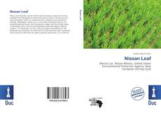 Bookcover of Nissan Leaf