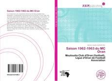Saison 1962-1963 du MC Oran kitap kapağı