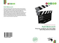 Bookcover of Ruth Maleczech