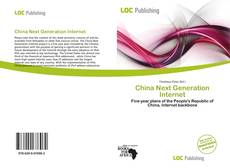 Bookcover of China Next Generation Internet