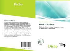 Обложка Peste d'Athènes