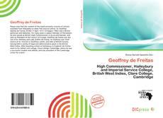 Borítókép a  Geoffrey de Freitas - hoz