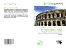 Buchcover von Servius Sulpicius Rufus