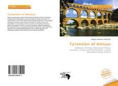 Couverture de Tyrannion of Amisus