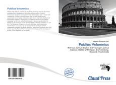 Bookcover of Publius Volumnius