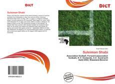 Capa do livro de Suleiman Shabi