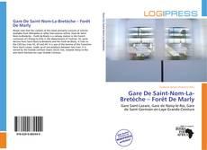 Gare De Saint-Nom-La-Bretèche – Forêt De Marly kitap kapağı