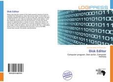 Disk Editor kitap kapağı