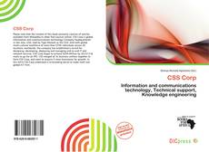 Bookcover of CSS Corp