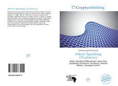Buchcover von Albert Spalding (Violinist)