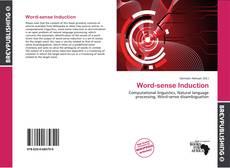 Couverture de Word-sense Induction