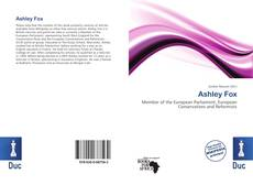 Capa do livro de Ashley Fox