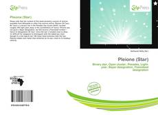 Bookcover of Pleione (Star)