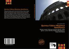 Bookcover of Quintus Fabius Maximus Aemilianus
