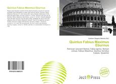Bookcover of Quintus Fabius Maximus Eburnus
