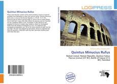 Buchcover von Quintus Minucius Rufus